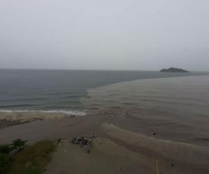 Lluvias en Santa Marta.