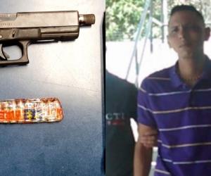 Herrera Meza, quien era conocido con el alias de 'Pipa' alcanzó a recibir cinco impactos de bala que le segaron la vida.