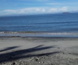 Así amanecieron las playas este jueves.