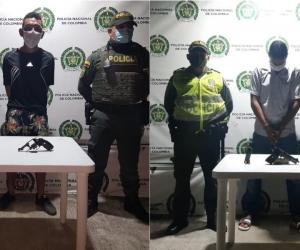 Capturados en el sector de La Paz.