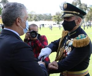 El acto estuvo encabezado por el señor presidente de la República, doctor Iván Duque Márquez.