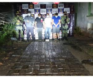 Los capturados fueron puestos a disposición de las autoridades competentes, con el fin de llevar a cabo el debido proceso de judicialización.