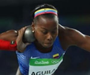 La atleta colombiana sigue luchando por un boleto a los Juegos Olímpicos Tokio 2021.