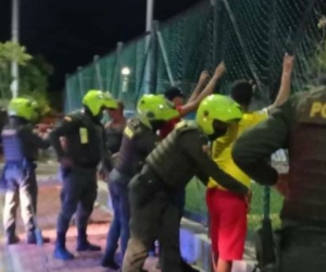Operativos de la Policía en Santa Marta durante Navidad.