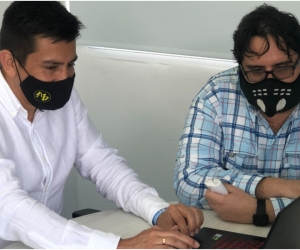 El estudiante del Doctorado en Ingeniería de la Red Mutis, Efrén Romero, eligió a la institución para recibir apoyo en la construcción de su tesis.