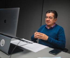 El ministro de Salud, Fernando Ruiz, habló sobre la llegada de la nueva cepa.