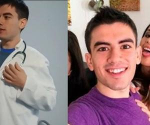 Imágenes del supuesto medico colombiano