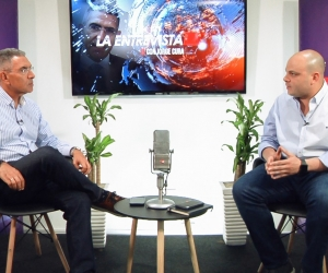 Libardo García, en La Entrevista, con Jorge Cura.