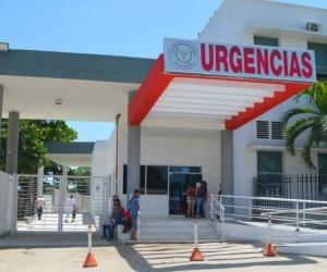 El herido fue ingresado al hospital San Cristóbal de Ciénaga.