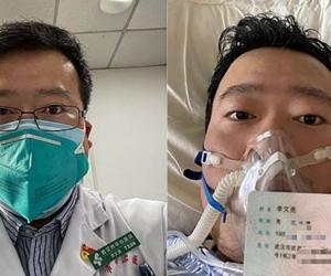 El médico chino Li Wenliang falleció este jueves.