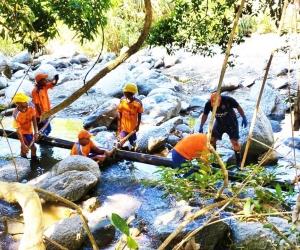 Los operativos se realizan principalmente en los caudales de los ríos.