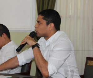 El diputado Jair Mejía.