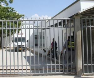 El lesionado fue llevado a la Clínica Adela de Char de Soledad.