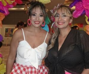 Sandra Valencia y Pilar Espina