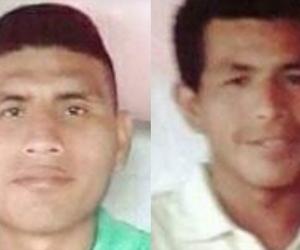 Albeiro Silva Mosquera y Luis Hugo Silva Mosquera