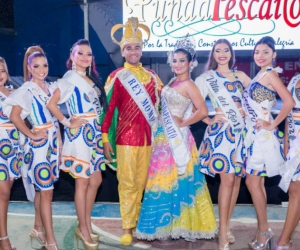 Participantes del concurso Reina de Reinas