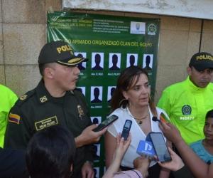 Secretaria de Seguridad Distrital, Sandra Vallejos