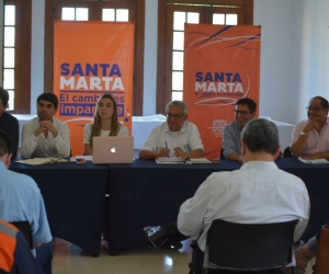 Mesa migratoria regional en Santa Marta