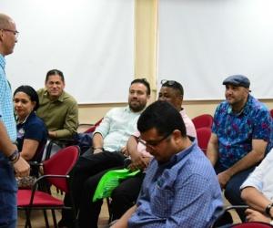 Socialización del proyecto con estudiantes beneficiados.