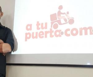 Dairo Henríquez Fontalvo, creador de la app 'A tu puerta'