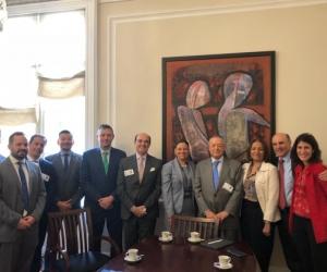 Firma del convenio de cooperación con la Universidad Sergio Arboleda.