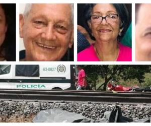 Cuatro personas de una misma familia perdieron la vida en el trágico accidente.