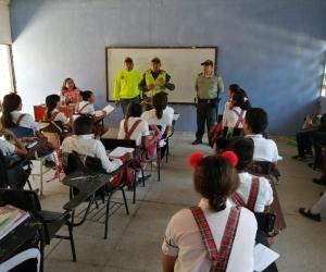 La fuerza pública, con toda su capacidad llegó hasta distintos sectores de Aracataca.