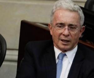 El expresidente y senador Álvaro Uribe