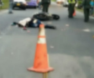 El accidente se registró en la vía Fundación - Bosconia.