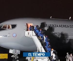 Avión Júpiter de la Fuerza Aérea Colombiana