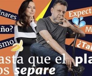 Flavia dos Santos y Alberto Linero
