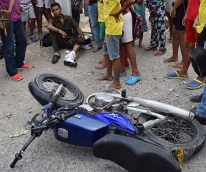 Uno de las muertes que se registró durante Carnaval fue en un accidente de tránsito.