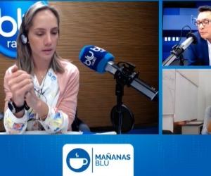 La entrevista fue transmitida en vivo.