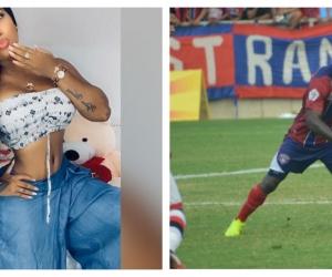 Solangel Estupiñán tenía un niño de dos años de edad con el atacante vallecaucano Jhonnier Viveros.