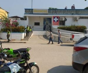 A uno de los heridos lo ingresaron al Hospital San Rafael.