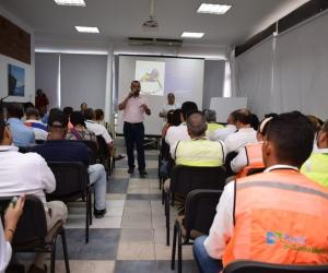 Capacitación a líderes y empleados del Puerto de Santa Marta.