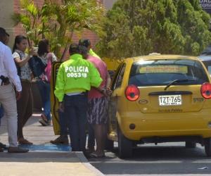 Proceso de captura de Luis Mauricio Puerta Ortiz.