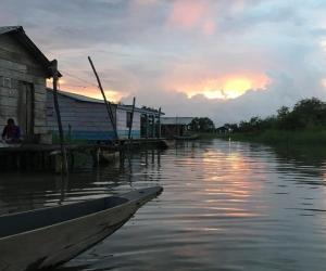 Pescadores de la Ciénaga Grande de Santa Marta