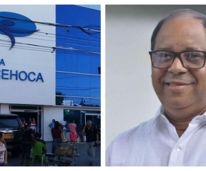Clínica Cehoca y secretario de Salud Distrital (e), Jairo Romo