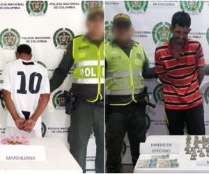 Los capturados fueron dejados a disposición de las autoridades competentes y en las próximas horas serán presentados ante un Juez Control de Garantías.