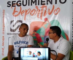 El exdelantero desmintió la información de su presentación a la URI de Santa Marta.