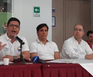 Pablo Vera, rector de la Univeersidad del Magdalena.