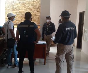 Controles en el sector hotelero de Santa Marta