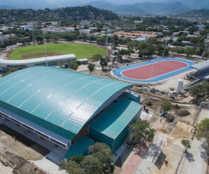 Los coliseos de la villa olímpica serán centros de acopio durante la cuarentena.