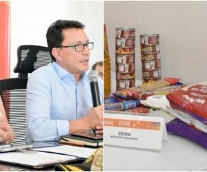 Los mandatarios están a la espera de las grandes superficies de alimentos para comenzar con la entrega de ayudas.