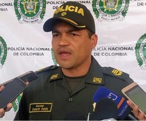 Coronel Samir Pava Ávila.