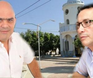 Jorge 'Checho' Serrano y Carlos Caicedo.