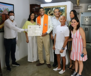 Entrega de diplomas de la Universidad del Magdalena