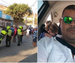 El atentado se presentó en el barrio Alfonso López.