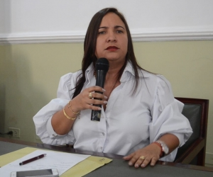 La diputada volvió a criticar al gobernador por la actualidad de los hospitales del Magdalena.